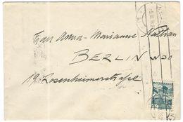 AUSTRIA - ÖSTERREICH - AUTRICHE - 1936 - 24 Gr Salzburg - Hotel Bristol - Viaggiata Da Wien Per Berlin, Germany - 1918-1945 1. Republik