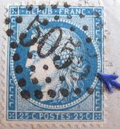 LOT NC3/81 - CERES N°60A (sur Support) GC 5055 PHILIPPEVILLE (CONSTANTINE/ALGERIE) INDICE 3 - 1871-1875 Cérès