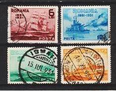 1931 - Centenaire De La Marine  Mi No 402/405 Et Yv 418/421 - Gebraucht