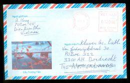 BRIEFOMSLAG Uit 2005 Van DIENBIENPHU Te VIETNAM Naar DORDRECHT  (10.643a) - Vietnam