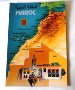 MAROC CARTE GEOGRAPHIQUE - Autres
