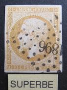 LOT LP180/16 - NAPOLEON III N°13Ab Bistre Orange - PC 1896 MARSEILLE (Bouches Du Rhône) - 1853-1860 Napoleon III