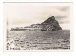 ROCHER DE GIBRALTAR / Vue Prise Du Détroit Au Passage Du Paquebot CAP TOURANE ( Croisière De Pâques 1934 ) - Gibraltar