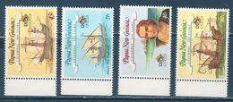 Nuova Papua Gunea 1992 -- Colombo ( Yvert  646/49) ** MNH /VF - Cristoforo Colombo