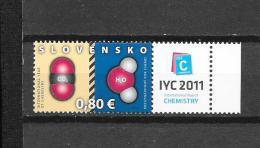 Slovensko 2011  Mich. Nr° 652 (**) - Slovaquie