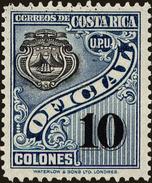 Costa Rica Scott #O94, 1937, Hinged - Costa Rica