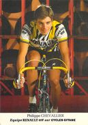 Sport  - CYCLISME -PHILIPPE CHEVALLIER  (Renault Cycles Gitane)(vélo)*PRIX FIXE - Cycling