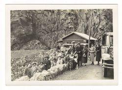 CORSE  /  DANS  LES  CALANCHES  DE  PIANA  ( Passagers Du Paquebot CAP TOURANE , Croisière De Pâques 1934 ) - France