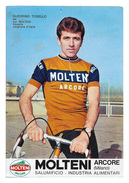 CARTE CYCLISME GUERRINO TOSELLO TEAM MOLTENI 1970 ( USADA, VER PHOTO DEL ANNONCE ) - Cycling