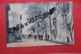 Cp  Peyriac De Mer Avenue De Narbonne Animé - Frankrijk