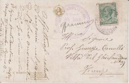 Italy Postmark Stamp Officio Aprovvisto Di Bol 5 Centisimi Used - Italien