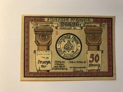 Allemagne Notgeld Frose 50 Pfennig - [ 3] 1918-1933 : République De Weimar