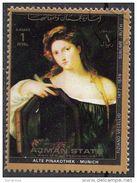"1531 Ajman 1972  "" Vanita "" Quadro Dipinto Da Tiziano Vecellio Titian Used Painting Tableau - Nudes"