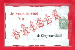 52-CPA CIREY SUR BLAISE - JE VOUS ENVOIE UN BAISER - (N°623) - Autres Communes