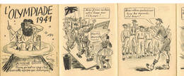 L'Olympiade 1941 Propagande Anti Anglaise Pro Allemande - 1939-45