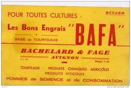 Buvard - Les Bons Engrais BAFA - Agriculture