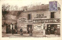SAINT ETIENNE DE CHIGNY-café Tabacs Du Pontde Bresme- Pompes A Essences - Other Municipalities