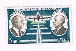 France 1971 - Poste Aérienne - Y&T N°46 - Didier Daurat Raymond Vanier Pionniers De La Poste Aérienne - 1960-.... Mint/hinged