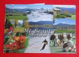 R1- Postcard-Mt Beauty, Victoria,Stamp:Air Mail - Australia