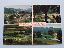 Grüsse Aus OUREN ( Lander ) Anno 19?? ( Zie Foto's ) ! - Burg-Reuland