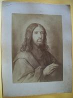B9 3267 - ESTAMPE DE JESUS CHRIST OU D'UN SAINT - FORMAT 13,2 X 17,5 Cm - Religión & Esoterismo