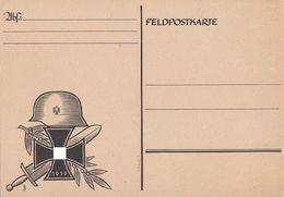Blanco Feldpostkarte Mit Zudruck Von 1939 - Briefe U. Dokumente