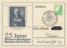 DR Privat-GS Minr.PP142 D3 SST München 21.5.38 - Briefe U. Dokumente