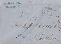 Brief K2 Frankfurt A. D. Oder 11.4. Gel. Nach Berlin - Preussen