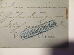 1879 POSTCARD FRANKFURT A. M. TO RUSSIA ST. PETERSBURG , FRANKED   ,0 - 1857-1916 Imperium