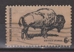 Verenigde Staten United States Used ; Bizon NOW MANY ANIMAL STAMPS FOR SALE - Koeien