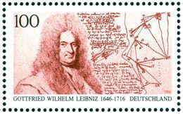 LEIBNIZ, G.W. - Germany 1996 Michel # 1865 - ** MNH - Mathematics - Mathemtician, Philosopher - Sciences