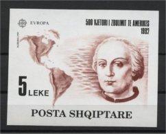 Albania / Albanien Block 97** Europa CEPT 1992 - Albanie