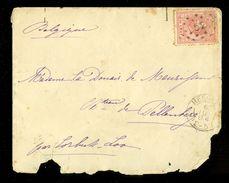 BRIEFOMSLAG Uit 1884 Van HEERLE Via CORBEEK-LOO Aan Mme Donair De Maurissens Château Pellenberg (10.643j) - Periode 1852-1890 (Willem III)