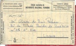 Oil.Gazcidla.Bottle Gas.Gasflasche.Petroleo.Military Aerogram Portuguese Colonial War.Free Franchise.Stationery.3sc.Rare - Petrolio