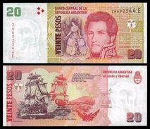 Argentina - 20 Pesos 2013 UNC - Argentine