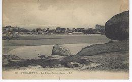CPA 22 ( Cotes D'Armor  ) - TREGASTEL - La Plage Sainte Anne - Trégastel