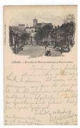 Liége - Entrée Du Boulevard De La Sauvenièrte 1898 - Lüttich