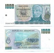 Argentina - 1000 Peso 1984 - 89 UNC - Argentine