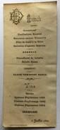MENU LUNCH Du 5 Juillet 1899 - Menus