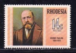 RHODESIA, 1974, Mint Never Hinged Stamp(s) , MI 139, George Pauling,   #421 - Rhodesia (1964-1980)