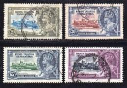 KENYA, UGANDA, TANGANYKA, 1935, Used Stamp(s) , SG 124-127, Silver Jubilee,   #255 - Kenya, Uganda & Tanganyika