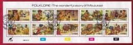 CISKEI, 1988, Cancelled To Order Stamp(s) , 131-140, Folklore,   #3352 (strip Of 10) - Ciskei