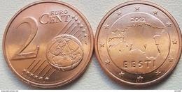 Eurocoins Estonia 2 Cents 2012 UNC / BU - Estonia
