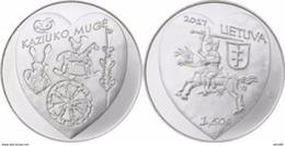 Eurocoins Lithuania 1.5 Euro 2017 UNC ' Kaziuko Muge ' - Lituania
