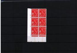 Nothern Ireland Regional Issue 4 D Red CB Cylinder Block Nr. 1.  MNH - Irlande Du Nord