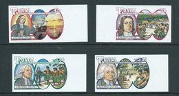 Tonga 1991 Wesley Christian Missionary Unissued Set Of 4 As Imperforate Plate Proofs MNH - Tonga (1970-...)