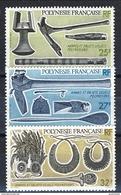 Polynesie 1987 Serie N. 288-290 MNH Cat. € 2.90 - Ungebraucht