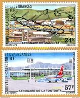 Nouvelle-Calédonie **LUXE 1977 Pa 179 Et 180 Paire - Poste Aérienne