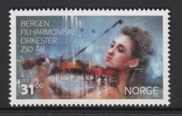 Norway 2015 31k Violinist - Bergen Philharmonic Orchestra 250 Years - Musique