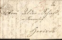 Swiss Canton: Letter From Winterthur 25 Juni 1842 To Herisau, 26 Juni - Switzerland